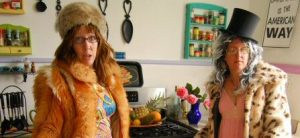 Yes, we wear fun fur in the kitchen. Why, don't you?