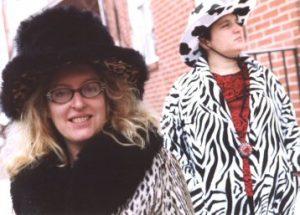 Yeah, Elizabeth's got some hats...